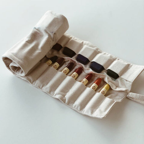 Organic Cotton Crayon Holder