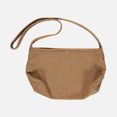 Organic Cotton Canvas Bag - Brown Sugar