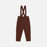 Merino Wool Pants - Umber
