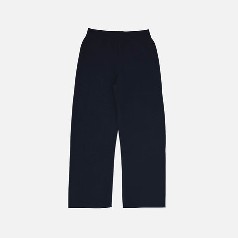 Women's Merino Wool Pants - Dark Navy