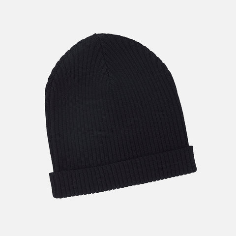 Adult's Merino Wool Hat - Black