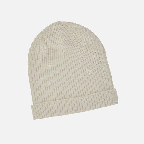 Adult's Merino Wool Hat - Ecru