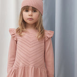 Merino Wool Dress - Blush
