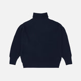 Women's Merino Wool Sweater - Navy