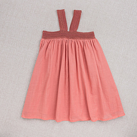 Cotton Marta Dress - Rose