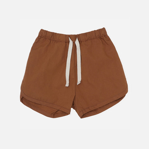 Organic Cotton Visno Shorts - Caramel