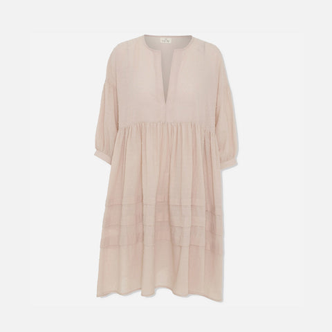 Women's Organic Cotton Priya Dress - Blush