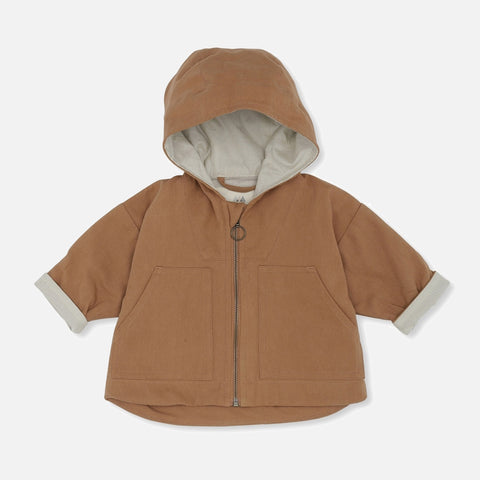Organic Cotton Bille Jacket - Tan