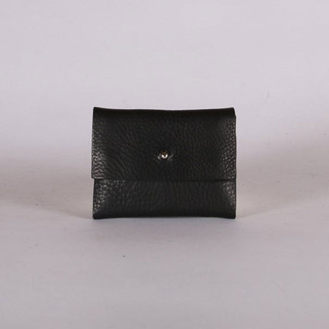Leather Loux Wallet - Black