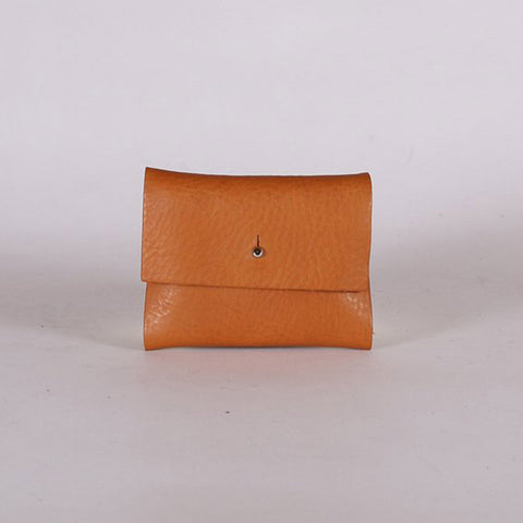 Leather Loux Wallet - Faggio