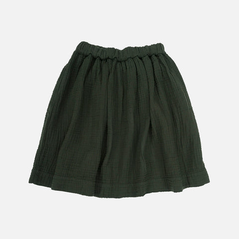 Organic Cotton Layla Skirt - Seaweed