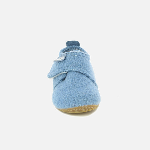 Wool Slipper Shoe - Blue Mountain