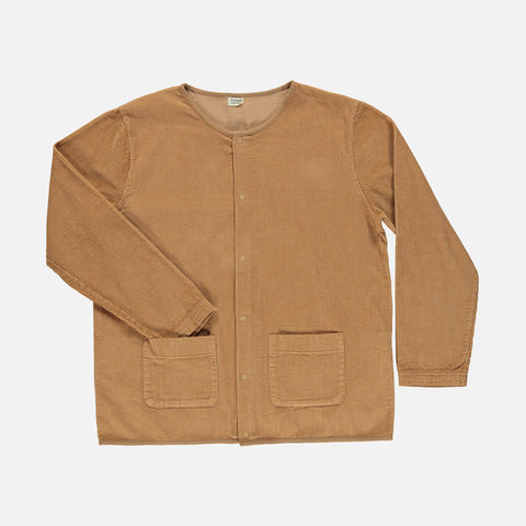 Women's Organic Cotton Corduroy Manioc Jacket - Brown Sugar