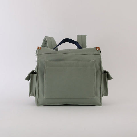 Mini Box Rucksack - Sea Green