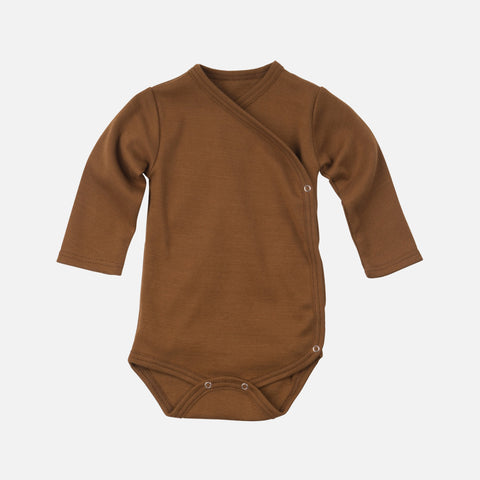 Organic Cotton Morris Long Sleeve Body - Amber