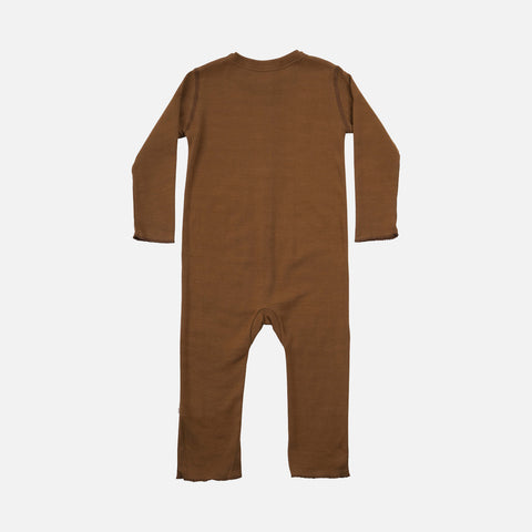 Organic Cotton Noor Baby Suit - Amber