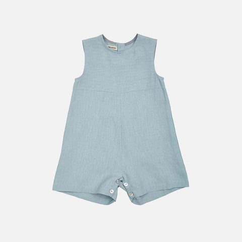 Linen Sibling Overall - Sage