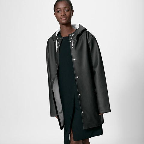 Adult's Stockholm Raincoat - Black