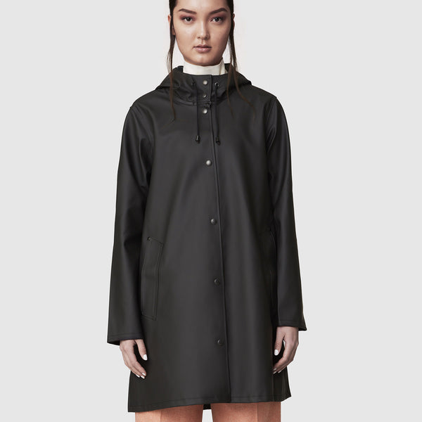 Women's Mosebacke Raincoat - Black
