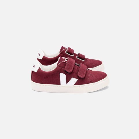 Canvas Esplar Trainer - Amarante/White