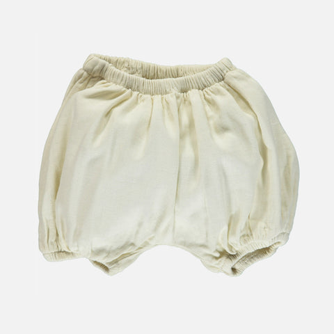 Organic Cotton Verveine Bloomers - Almond Milk