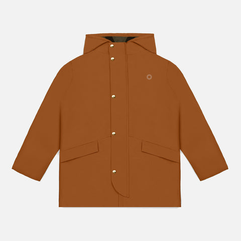 100% Waterproof Wanderer Raincoat - Red Oak