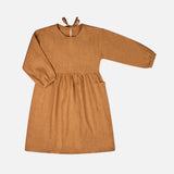 Linen Alma Dress - Cinnamon