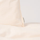 Organic Cotton Duvet & Pillow Cover - Powder - Junior Size