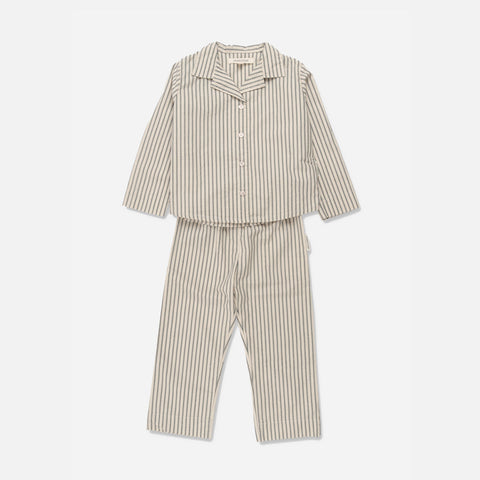 Organic Cotton Pyjamas - Classic Stripe