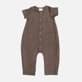 Linen Louie Jumpsuit - Earth