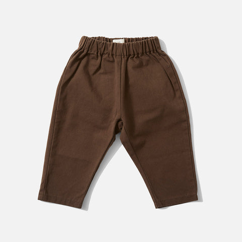 Organic Cotton Adine Pants - Walnut