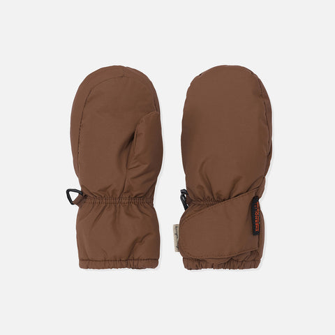 Baby Snow Gloves - Mocca