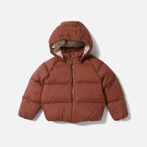 Down Jacket - Choco Bean