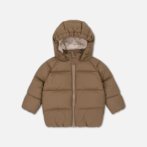 Puffer Jacket - Walnut