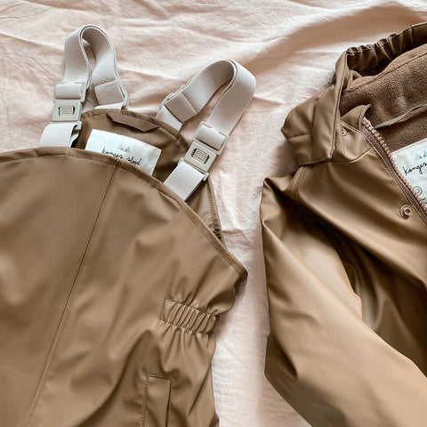 Palme Rainwear Set - Walnut