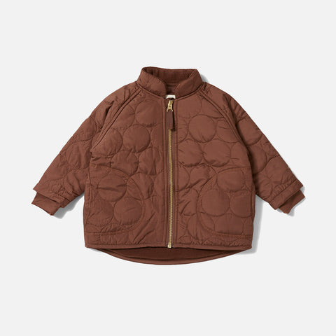 Thermo Crinkle Jacket - Mocca