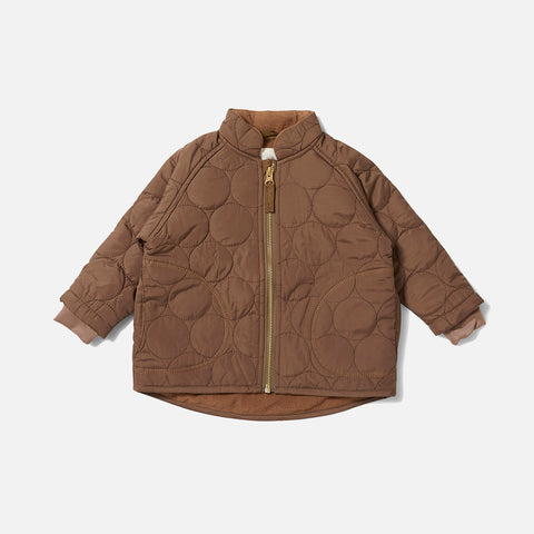Thermo Crinkle Jacket - Walnut