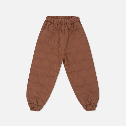 Thermo Crinkle Pants - Mocca