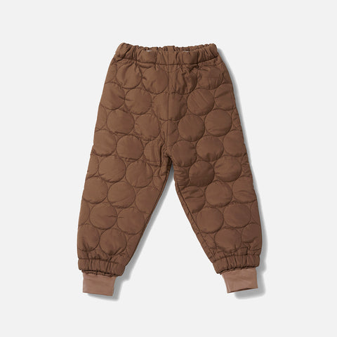Thermo Crinkle Pants - Walnut