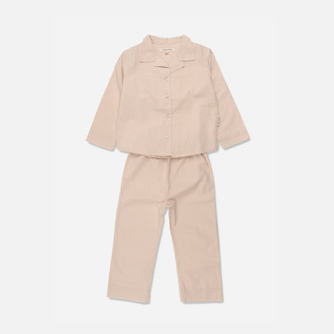 Organic Cotton Pyjamas - Lua Dark Powder