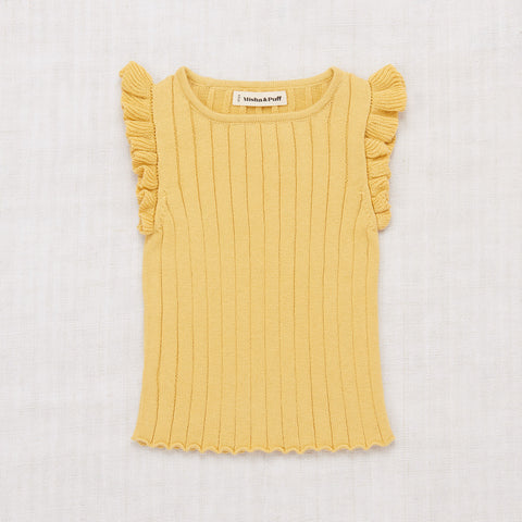 Cotton Ida Vest - Ochre
