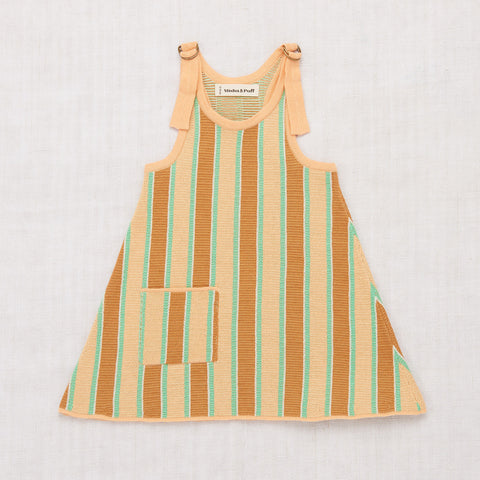 Cotton Kingston Dress - Peach