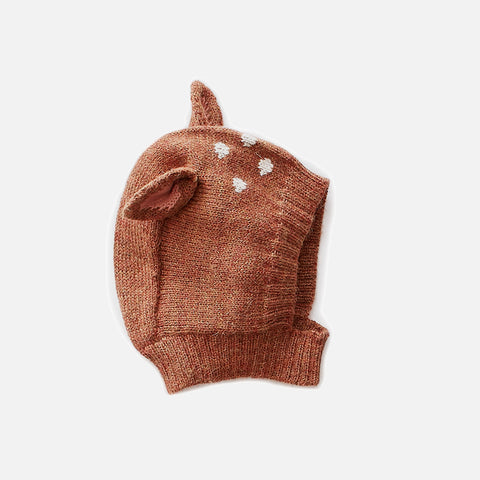 Alpaca Bambi Hat - Brown