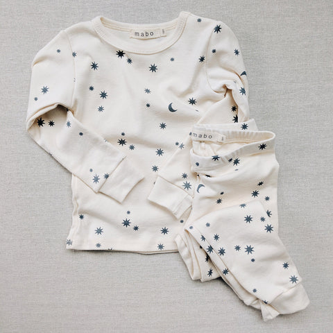 Organic Cotton Pyjamas - Night Sky