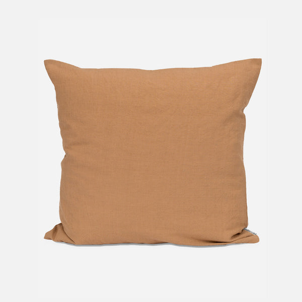 Cotton/Linen Cushion & Cover - Oak