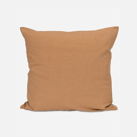 Cotton/Linen Cushion - Oak