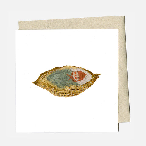Greeting Card - Seed Pod Baby