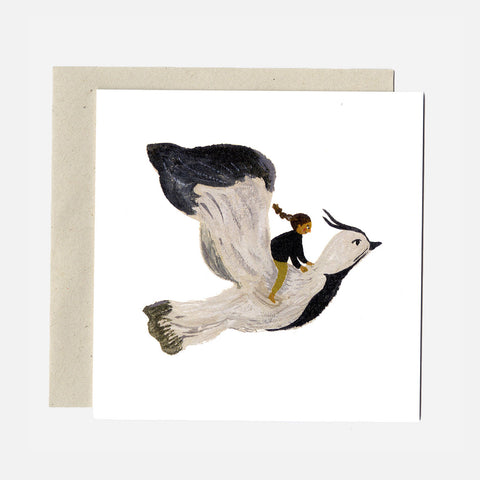 Greeting Card - The Lapwing