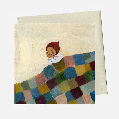 Greeting Card - The Quilt