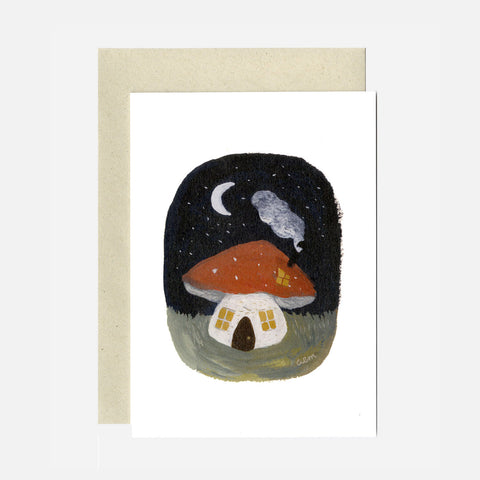 Greeting Card - Toadstool Cottage